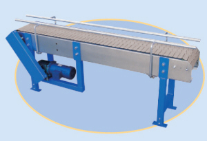 Flat -Top Chain Conveyors - Roll-A-Way Conveyors Inc